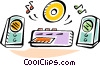 Mini Systems Vector Clip Art image