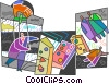 Control and Manipulation Vector Clipart image