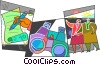 Assorted Metaphors Vector Clipart picture