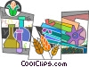 Biology Vector Clipart illustration