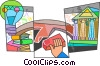 Vector Clip Art graphic  of a Idea Concepts