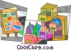 Vector Clip Art image  of an Assorted Metaphors