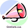 megaphone Vector Clip Art graphic