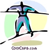 Vector Clip Art graphic  of a Risk