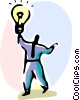 Vector Clipart illustration  of a Idea Concepts