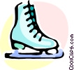 Vector Clip Art image  of a Figure Skating