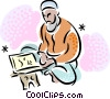 Vector Clip Art image  of a Various Religious Faiths