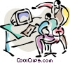 Collaboration Vector Clipart image