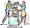 Consumers Vector Clipart illustration