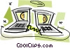 Vector Clipart graphic  of a Intranets