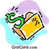 money concept Vector Clipart picture