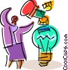 Idea Concepts Vector Clip Art graphic