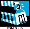 School Buildings Vector Clipart picture