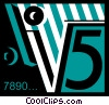 Vector Clip Art picture  of a Mathematics Symbols