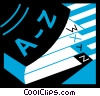 Vector Clip Art picture  of a Books and Records
