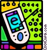 pda Vector Clipart illustration