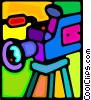 video camera Vector Clip Art image