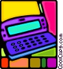 Vector Clipart graphic  of a notebook computer