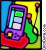 Vector Clipart illustration  of a video game