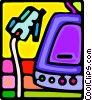 Vector Clipart graphic  of a pda