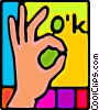 hands Vector Clip Art picture