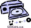 Vector Clip Art graphic  of a Components