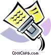Hand Scanners Vector Clipart picture