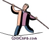 Balancing Vector Clip Art graphic