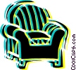 Vector Clip Art picture  of a Chairs