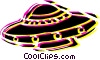 Vector Clipart graphic  of a UFO