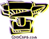 Vector Clipart image  of an Anvils