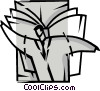 Vector Clip Art graphic  of a Soaring to New Heights