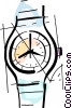 Vector Clip Art graphic  of a Wristwatches