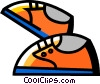 Running Shoes Vector Clipart image