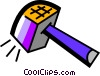 Vector Clipart image  of a Mallets