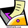 Vector Clipart picture  of a In-Boxes and Out-Boxes