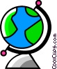 Vector Clipart image  of a Globes