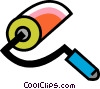Paint Rollers Vector Clip Art picture