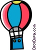 Hot Air Balloons Vector Clipart picture