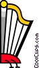 Vector Clipart illustration  of a Harps