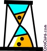 Hourglasses Vector Clipart illustration