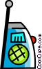 Walkie-Talkies Vector Clip Art graphic