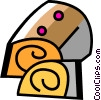 Vector Clipart illustration  of a Cakes and Pastries
