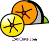 Lemons and Limes Vector Clipart picture