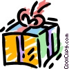 Vector Clipart graphic  of a Birthday Presents Gifts