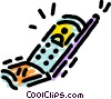 Cellular Phones Vector Clipart illustration