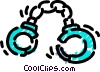 Vector Clipart image  of a Handcuffs and Leg Irons