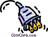 Vector Clip Art graphic  of a Electric Plugs