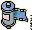 Film Vector Clip Art graphic