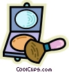 Compacts Vector Clipart illustration